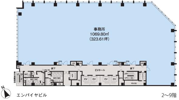 基準階(2~9階階)