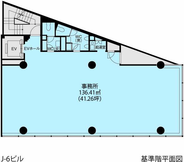 基準階(J-6ビル 2~10階階)
