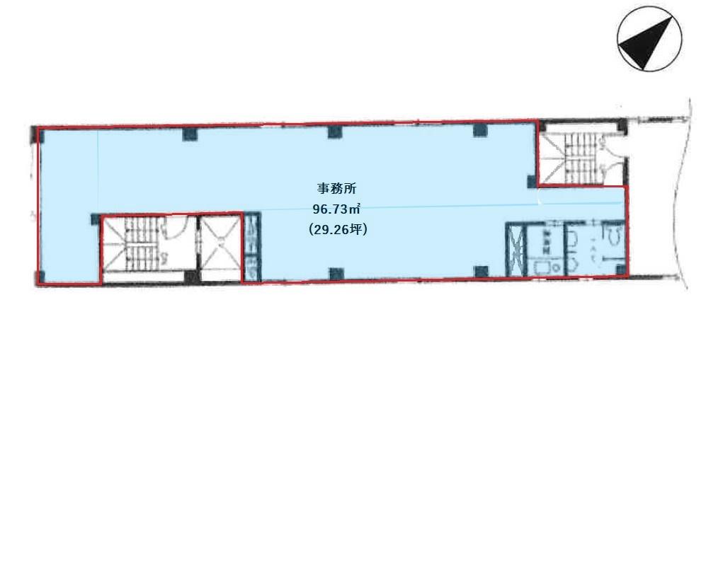 基準階(6階平面図階)